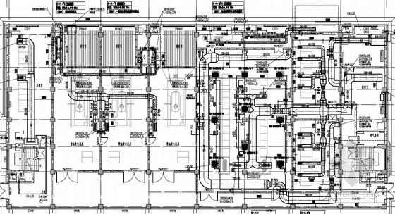 [贵州]多层办公楼通风空调系统设计施工图(蒸发式可变冷媒流量多联系统)