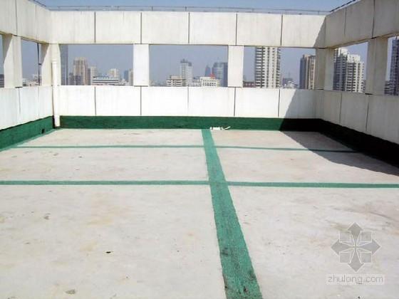 建筑工程屋面防水施工全面做法(构造图)