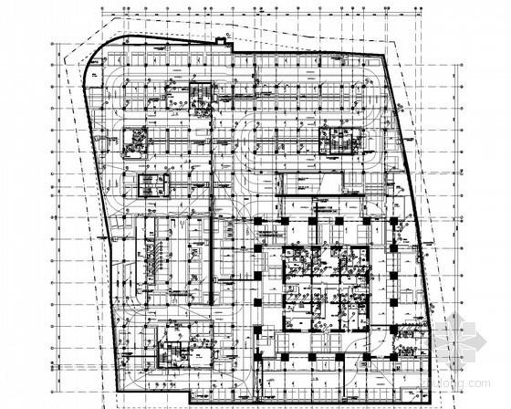 [河南]285米建筑全套强弱电气施工图452张(国际甲级办公 精品商业)