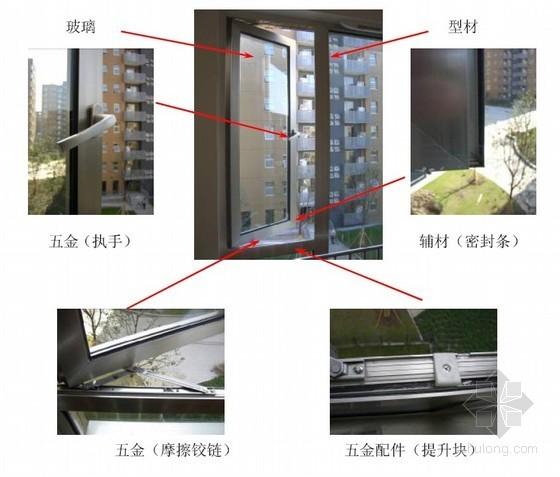 铝合金门窗工程施工手册(主要材料、生产加工、安装)