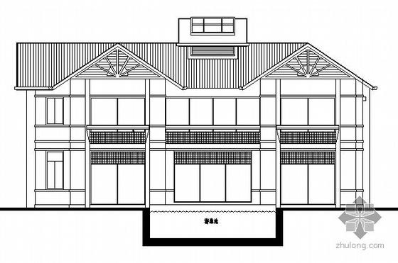 湖南某二层独栋别墅建筑施工图
