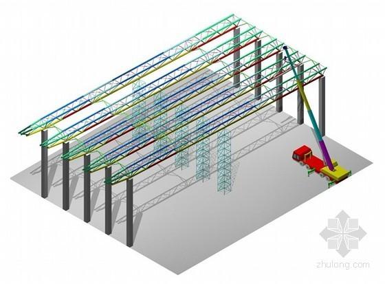 [北京]体育馆大跨度桁架空中对接施工技术总结