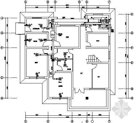 某药厂实验室及动物房改造工程净化空调设计图