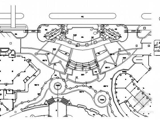 [广东]超大型主题购物公园主入口景观设计施工图