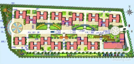 某单位高级公寓住宅区园林设计方案-2