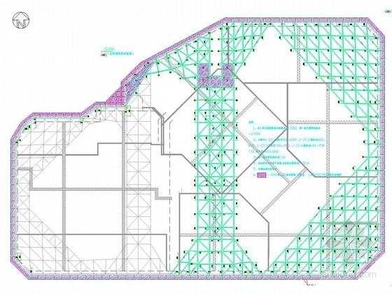 [浙江]厚淤泥地区17米深基坑排桩加三道混凝土支撑施工图(专家论证 2014年编制)