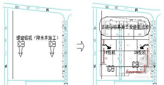 [江苏]16米深基坑土钉墙支护降水施工方案