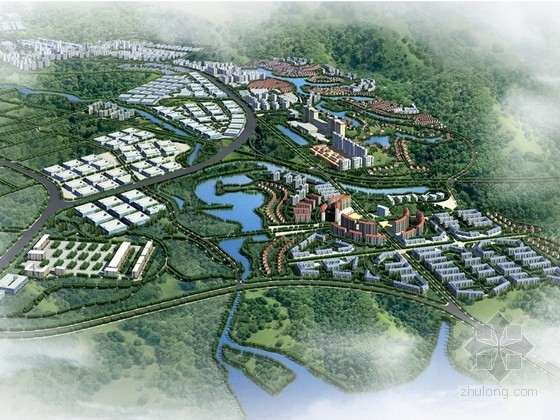 [广东]现代风格城市片区规划设计方案文本