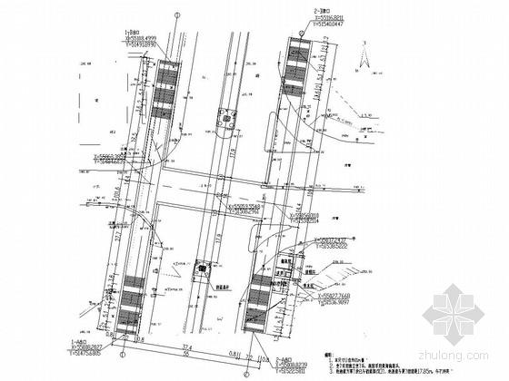 城市人行地下通结构施工图(26张)