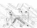 [江苏]地铁地下四层双岛车站图纸106张(平行双岛换乘通道换乘)
