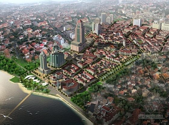 [山东]滨海街区景观规划设计方案(知名规划院)