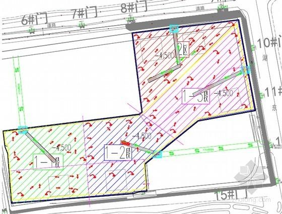 [江苏]大面积超深基坑土方开挖施工方案(附图丰富)