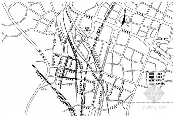 [浙江]城市市政路网工程设计图纸390张(路桥交通给排水 路灯电缆景观)