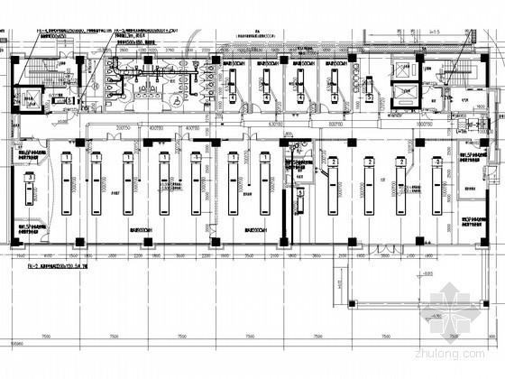 [江苏]社会福利院空调通风及防排烟系统设计施工图(风冷热泵系统)