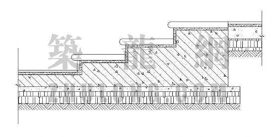清水台阶剖面图