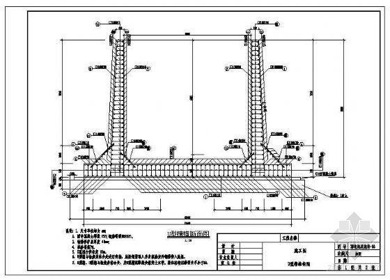 U型槽结构配筋详图