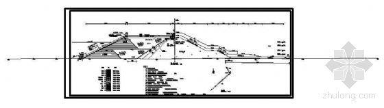 某抛石堤护岸工程断面详图