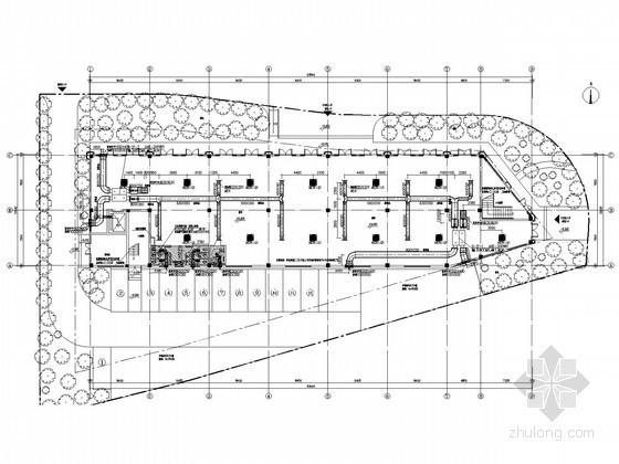 [浙江]多层商业建筑空调通风及防排烟系统设计施工图