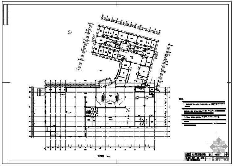 [学士]某经济型旅馆毕业设计(含计算书、部分建筑结构设计图)