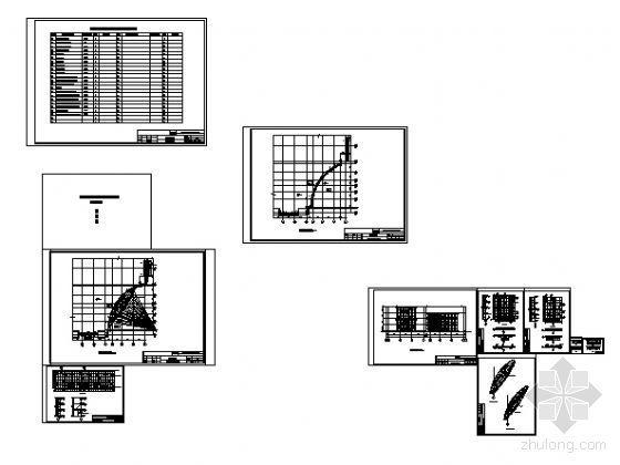 宁工新寓点式幕墙节点详图-2