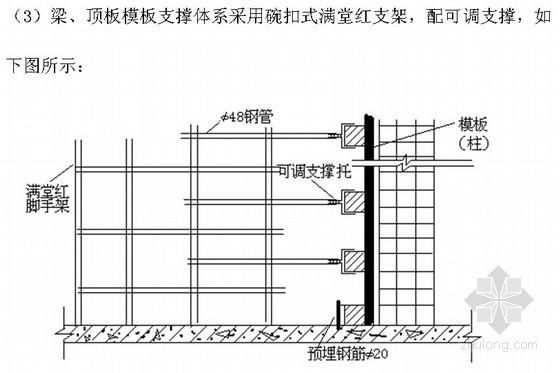 [安徽]综合办公楼钢结构夹层施工方案