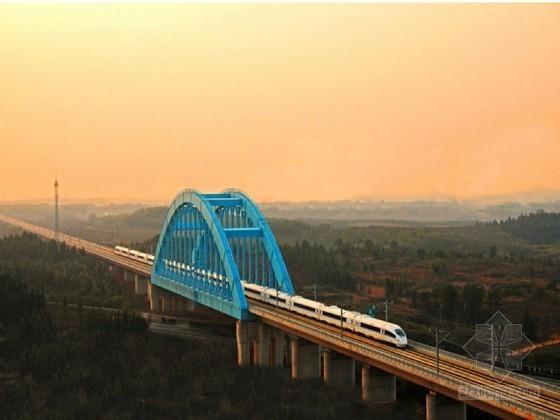 新建140m下承式钢箱系杆拱桥下部结构施组(鲁班奖)