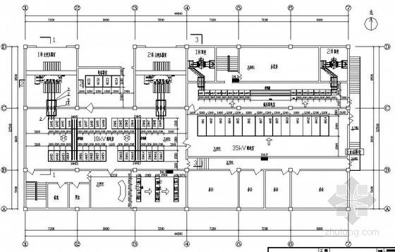 某35KV高压开关站电气施工图