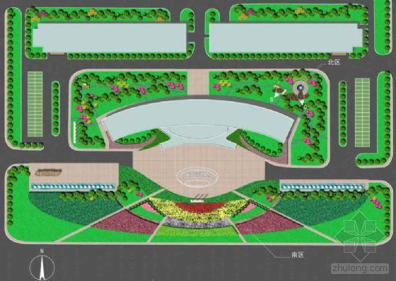 辽宁大连某信息产业园室外环境景观设计方案