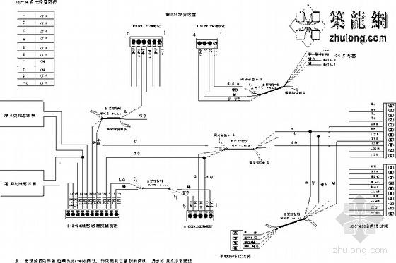 标准停车场出入口设备接线图(单卡认证型)