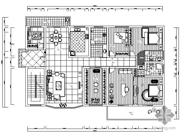 190㎡现代家居装修图(含效果)