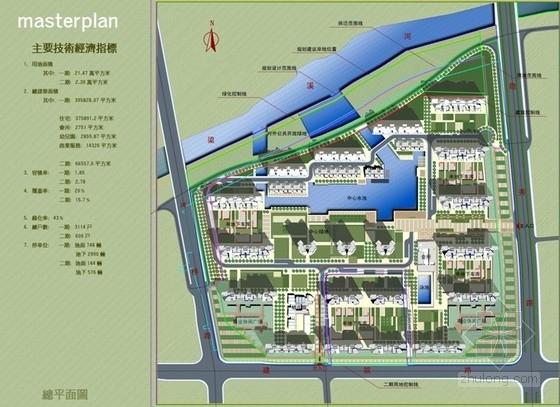 [江苏]现代风格滨水商住社区景观设计方案