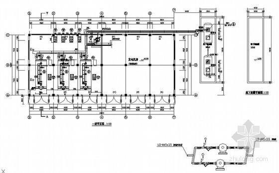 昆山某厂房锅炉房施工图
