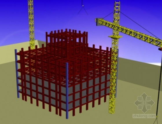 [北京]超高层商业大楼钢结构安装施工方案(长城杯)
