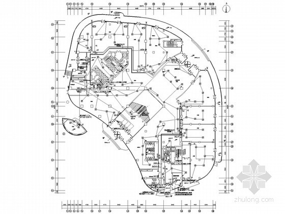 集团总部办公楼全套电气施工图纸(含大样图)