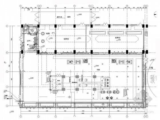 热电厂厂房锅炉采暖系统及空调通风设计施工图