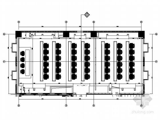 办公楼大会议室设计装修图
