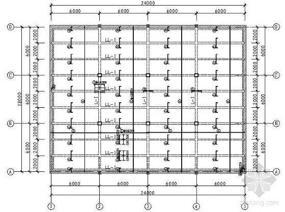 钢筋混凝土单向板肋形楼盖设计图纸
