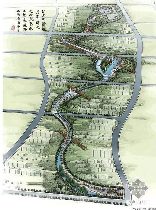 新疆小区中轴景观规划方案