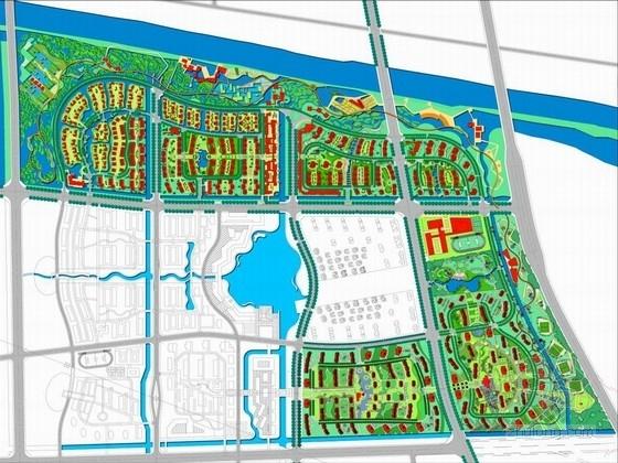 [扬州]古运河湿地公园及配套生活区初步概念规划方案