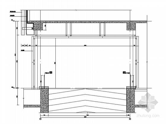 [南京]超高层铝合金墙面带底商研发办公楼建筑施工图-超高层铝合金墙面带底商研发办公楼建筑详图