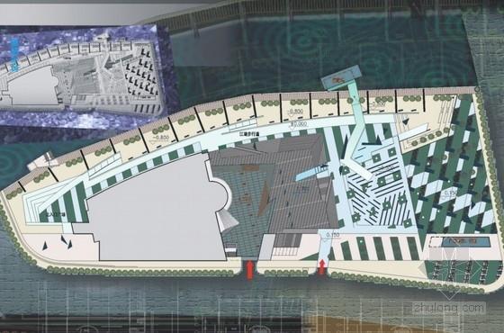 [宁波]文化中心广场绿地景观设计方案