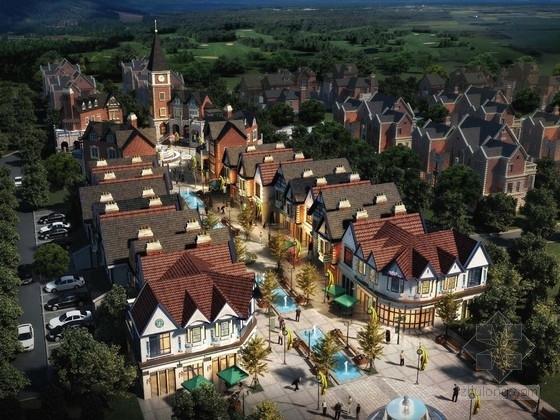 [大连]英式风情小镇住宅小区及商业规划设计方案文本