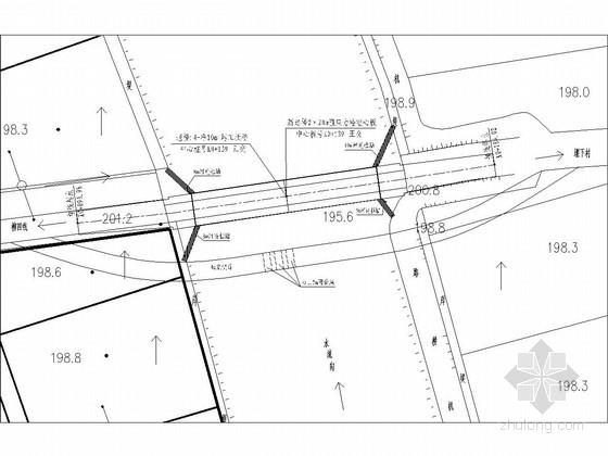 2×20m预应力混凝土简支空心板桥施工图38张(含接线道路)