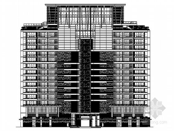 [海南]海棠湾奢华五星级度假酒店建筑施工图(图纸非常精细 值得下载)