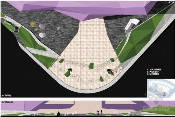 [福州]城市广场主广场景观深化设计方案(知名公司设计)