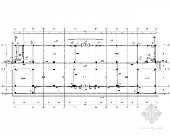 [四川]某校综合教学楼给排水施工设计图纸
