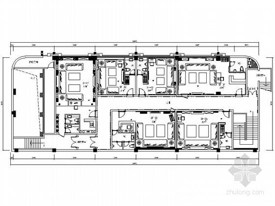 [张家港]奢华欧式全套KTV室内装修施工图