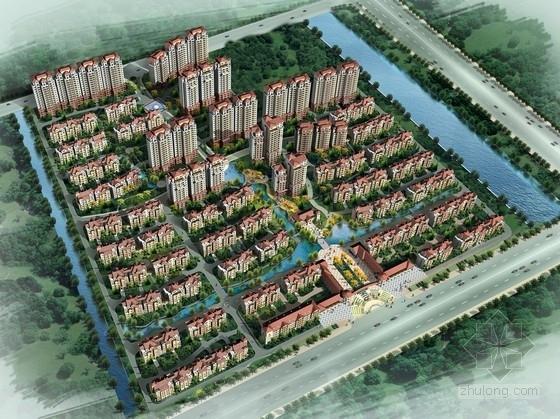 [江苏]生态型西班牙风格住宅区规划设计方案文本