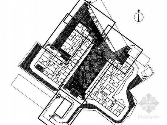 [南充]某小区环境景观设计施工图(含效果图)