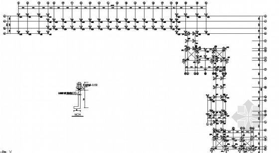 钢结构长廊结构施工图